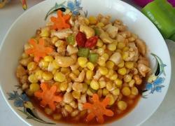 鸡丁腰果玉米粒