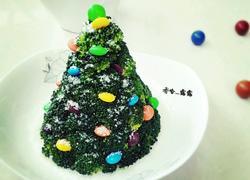 下雪天的圣诞树