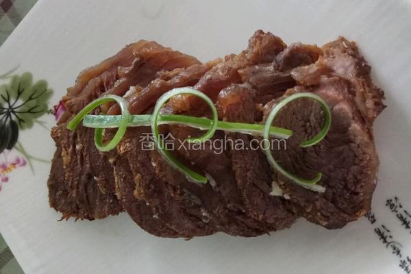 老屋私房菜 详解五香酱牛肉