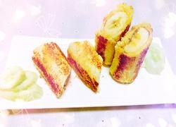 香蕉吐司卷