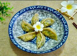 韭菜海米鸡蛋蒸饺