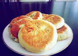 豆浆渣五香葱油饼