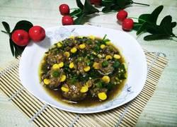 香菇酿肉末