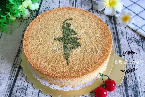 原味戚风蛋糕(8寸)