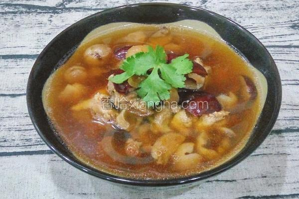 桂圆肉红枣煲猪骨