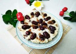 红枣葡萄干发糕