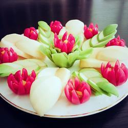 水果玉兰花