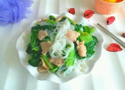 小白菜炖粉丝