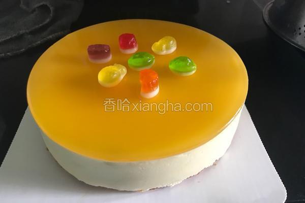 百香果慕斯蛋糕(6寸雪糕版)