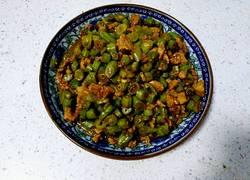 肉丁炒豆角