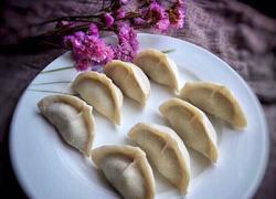 猪肉虾米白菜饺子