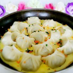 五彩抱蛋煎饺