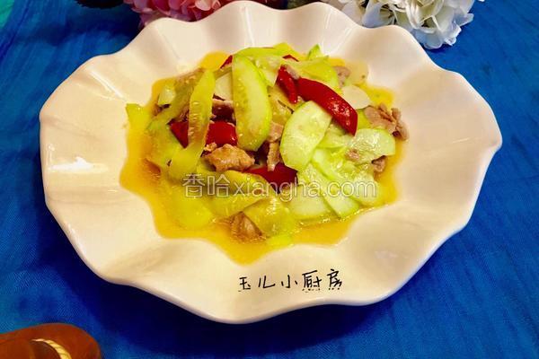 土黄瓜肉片