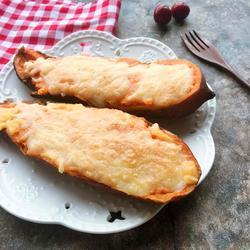芝士焗番薯