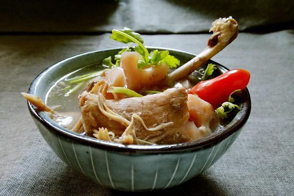 莲藕戏鸭汤
