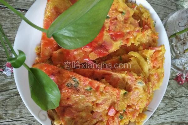 水果蔬菜饼