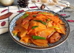 辣白菜炒土豆片
