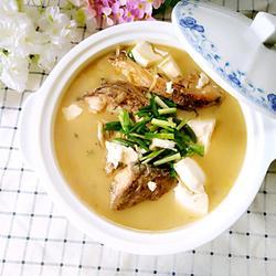 河鱼煮豆腐
