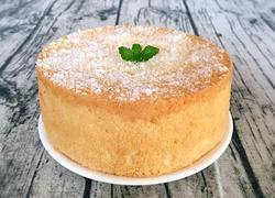 椰香戚风蛋糕6寸