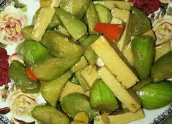 丝瓜烩千页豆腐