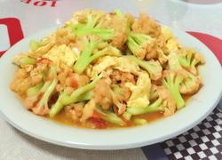 西红柿鸡蛋菜花