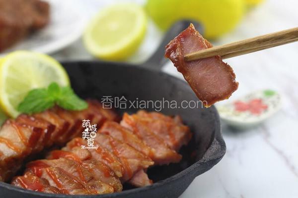 粤菜中广受欢迎的美味蜜汁叉烧