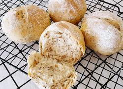 奇亚籽黑麦小面包(无糖少油)
