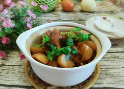 香菇土豆烧鸭腿