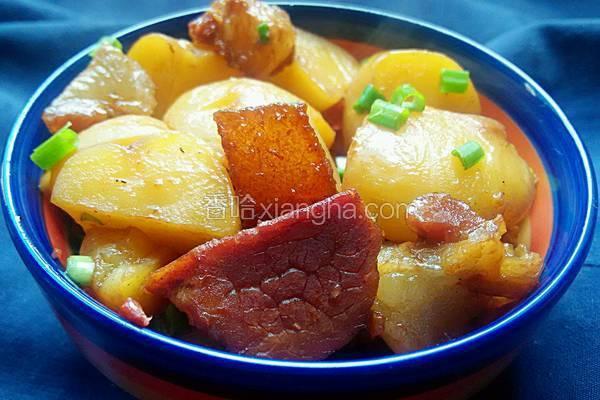 土豆烧腊肉