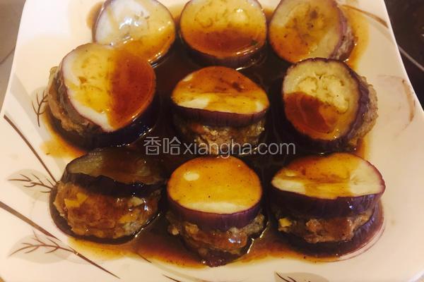 蚝油蒸茄盒