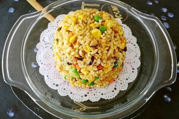 咖喱素炒饭