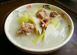 咸鲜排骨瓠子汤
