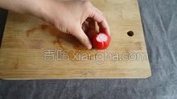糖醋樱桃小萝卜的做法图解4
