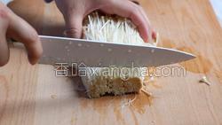 黑椒肥牛金针菇卷的做法图解2