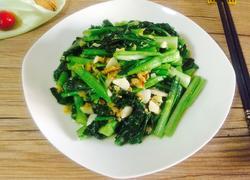 海米油菜苔