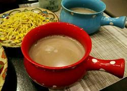 芝麻核桃黑豆浆