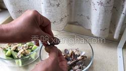 红油黄瓜蛤蜊的做法图解10