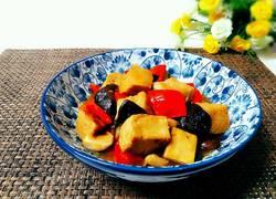香菇烧冻豆腐