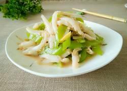 小银鱼炒辣椒