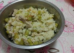 豆角瘦肉饭