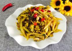 咸菜冬笋炒肉丝
