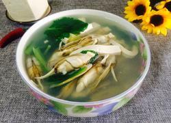 蛏子豆腐鲜汤