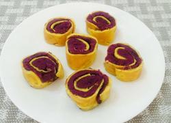 芝士紫薯鸡蛋卷