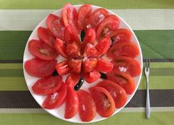 最美之花---凉拌西红柿