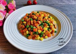 火腿肠蔬菜丁