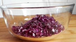 花生紫甘蓝煎饼的做法图解9