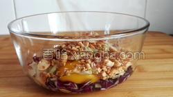 花生紫甘蓝煎饼的做法图解16