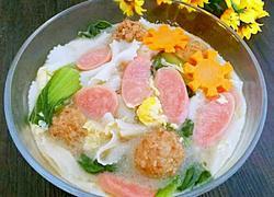蔬菜肉丸蝴蝶面