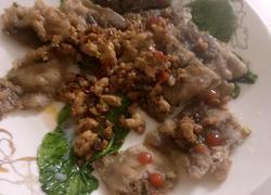 叶鱼肉渣葱香饼