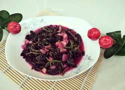 蒜香红苋菜